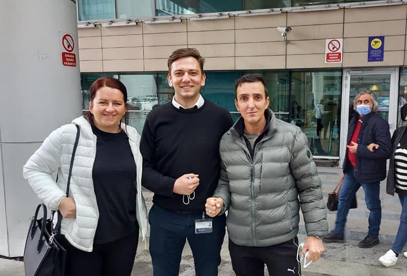 LIJEPE VIJESTI Amir Bajrić pobijedio tešku bolest