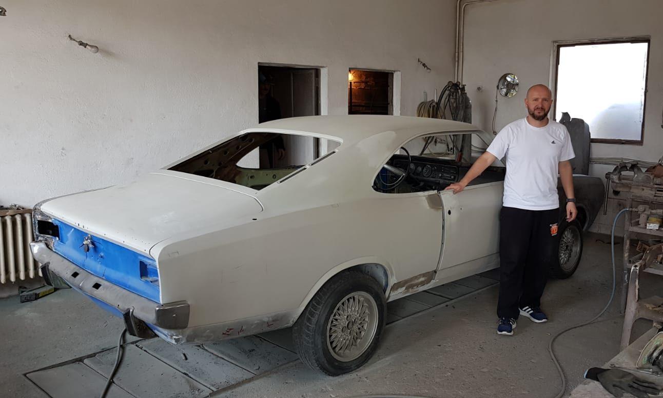 Restaurirao automobil koji u regionu postoji u samo par primjeraka