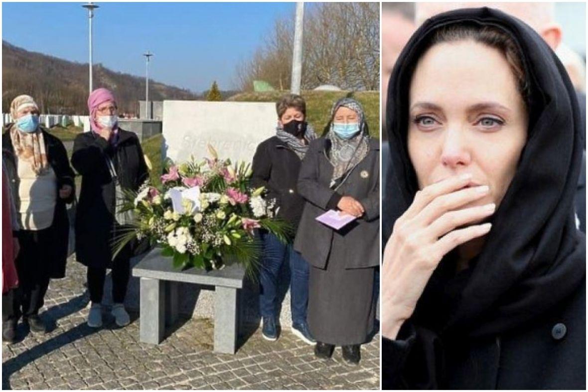 """Angelina uputila čestitku Majkama Srebrenice za 8. mart: """"Uvijek ste u mom srcu"""""""