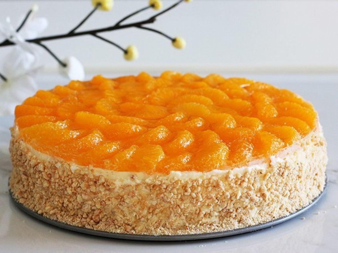 Jednostavni cheesecake s narandžom