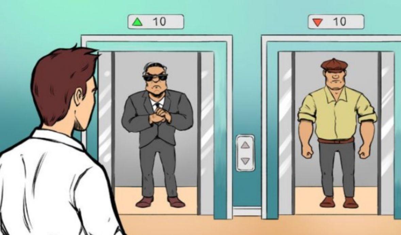 Zanimljiva mozgalica: Koji je lift najsigurniji?