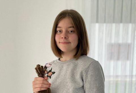 Mlada Sanjanka donirala kosu djeci oboljeloj od raka