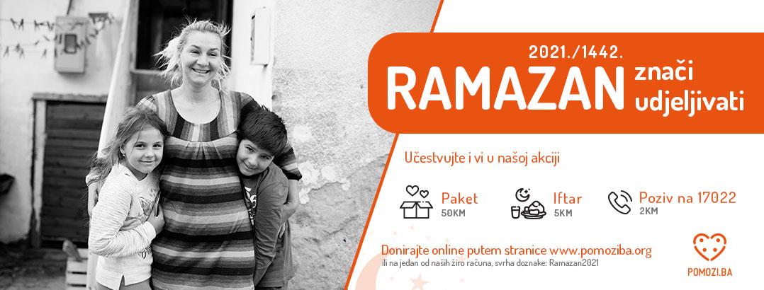 Pomozi.ba prvog dana ramazana donirali pola miliona maraka