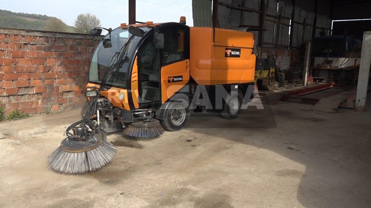 BRAVO Novo vozilo za čišćenje gradskih ulica