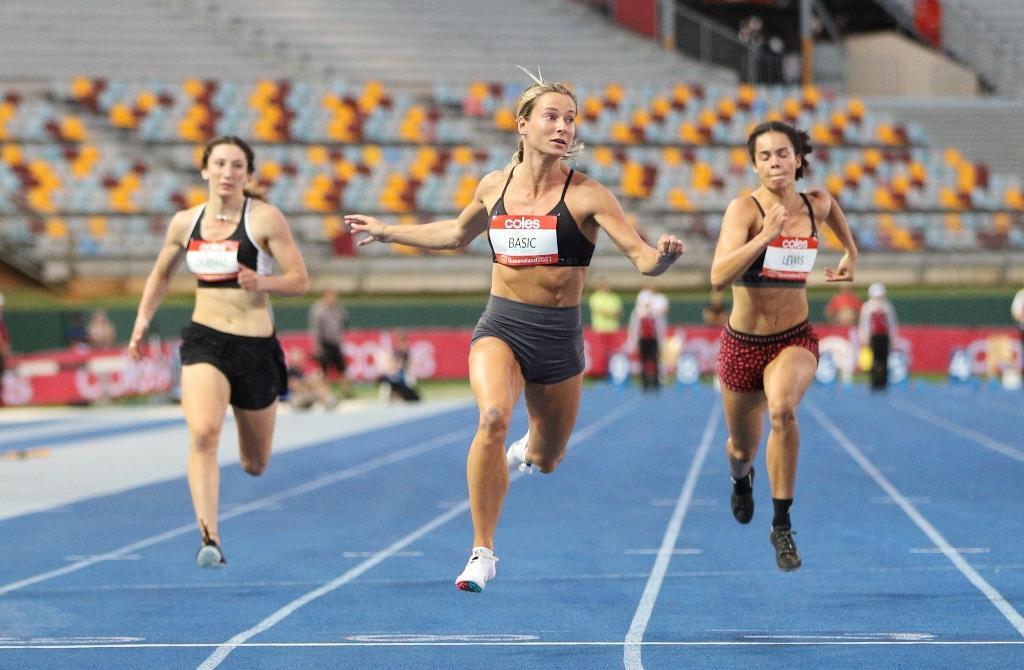 Hana Bašić je trenutno najbrža trkačica Australije u 100 m sprintu
