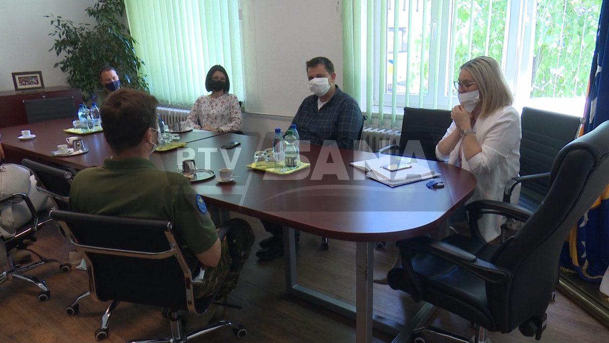 Slovenački LOT tim posjetio načelnika Hasanbegovića