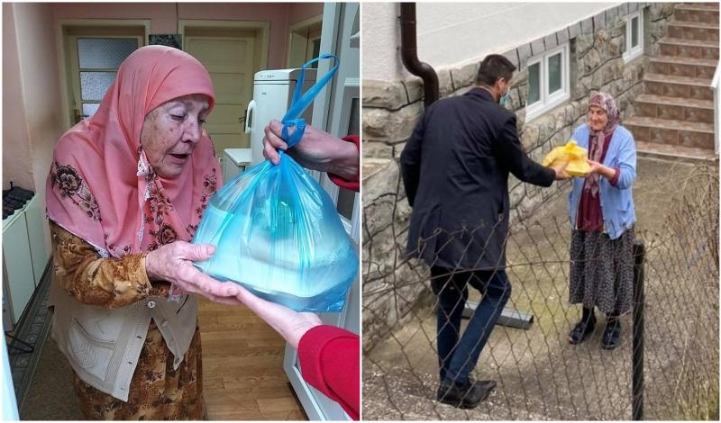 Srebrenički imami na vrata starijih sugrađana nose iftare: To nisu iftari, već emocije