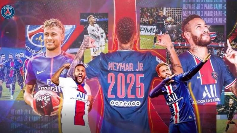 Neymar produžio ugovor s PSG-om