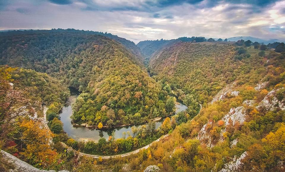 Kanjon Sanice je komadić raja na zemlji