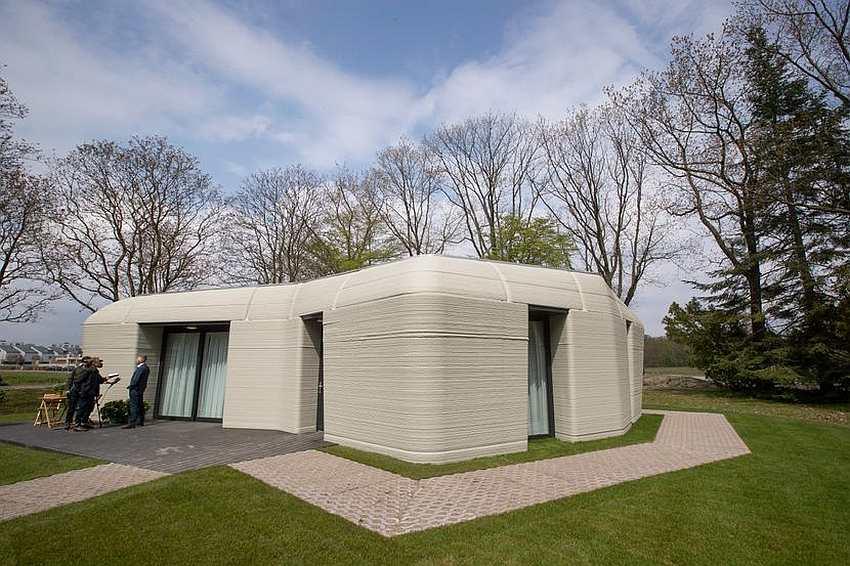 Prva kuća iz 3D štampača završena za 5 dana i bez majstora, rezultat 94 savršena kvadrata
