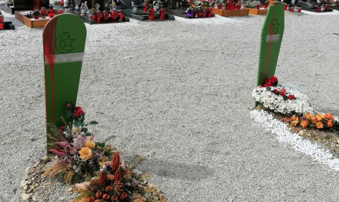Sramotan čin: Oskrnavljeni muslimanski mezari u Sloveniji