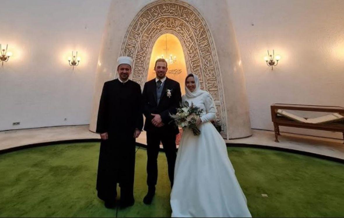Petar i Patricija primili islam i vjenčali se u zagrebačkoj džamiji