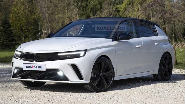 Nova Opel Astra dolazi do kraja godine