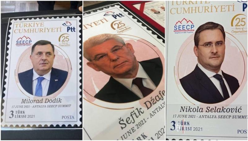 U Turskoj svi dobili poštansku markicu, samo je Dodiku i bh. medijima to bilo zabremedet