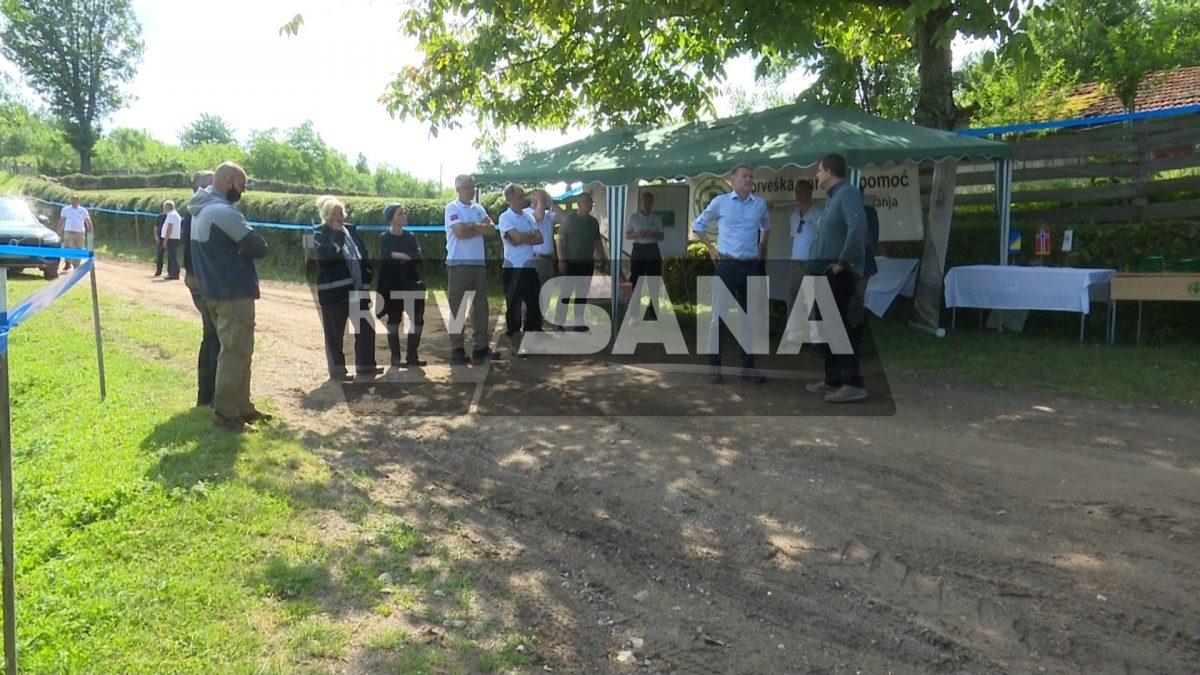 Uklanjanje mina na području Šehovaca