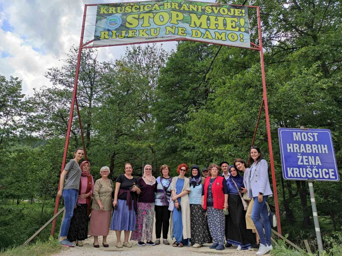 Broševi hrabrosti: Žene Kruščice su simbol borbe za bh. rijeke