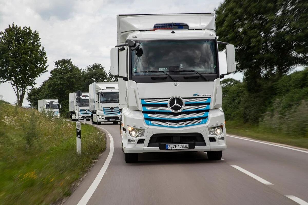 Električni Mercedes eActros debituje 30. juna, proizvodnja sljedeće godine