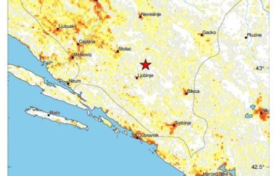 Zemljotres potresao BiH: Ovo su prve informacije