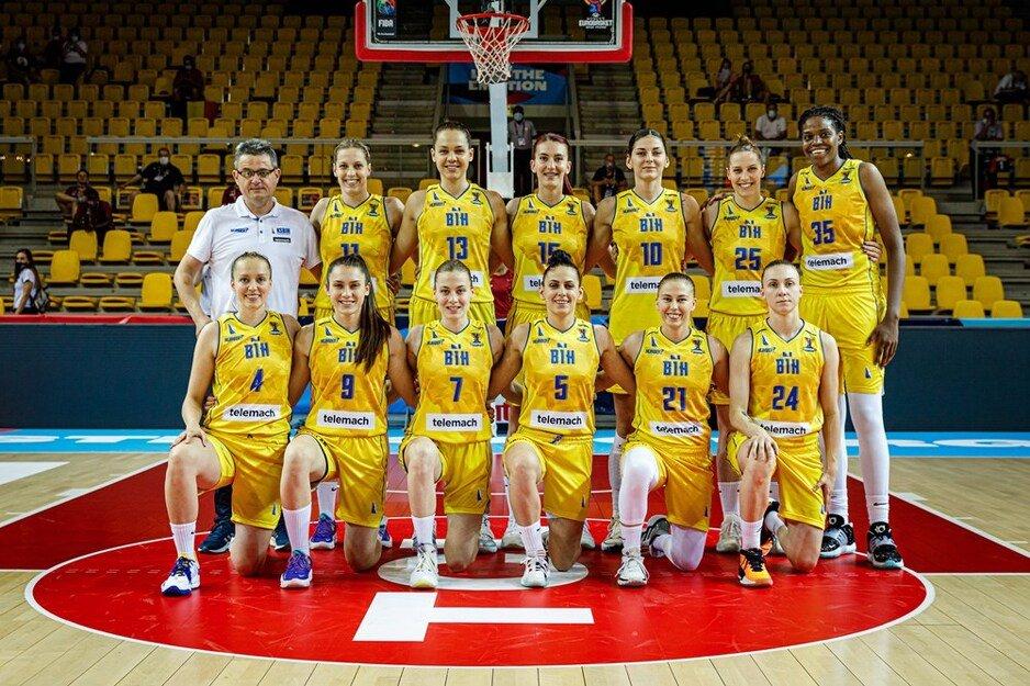 Košarkašice BiH senzacionalno pobijedile Belgiju na otvaranju Eurobasketa