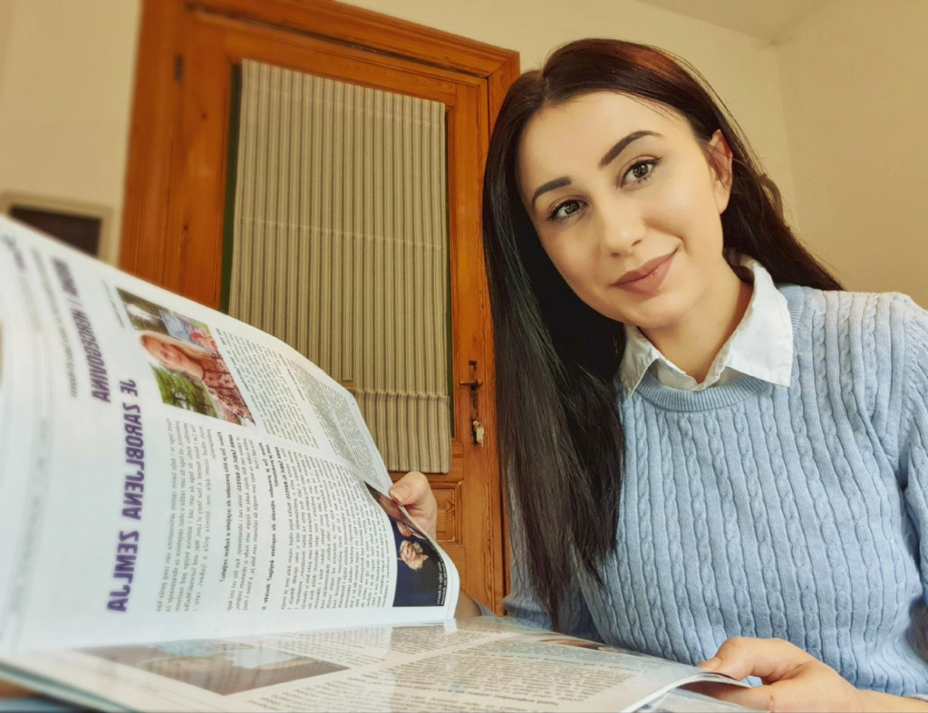 Mubina Vrtagić, Slovenija: Ponosno predstavljam Bosnu i Hercegovinu