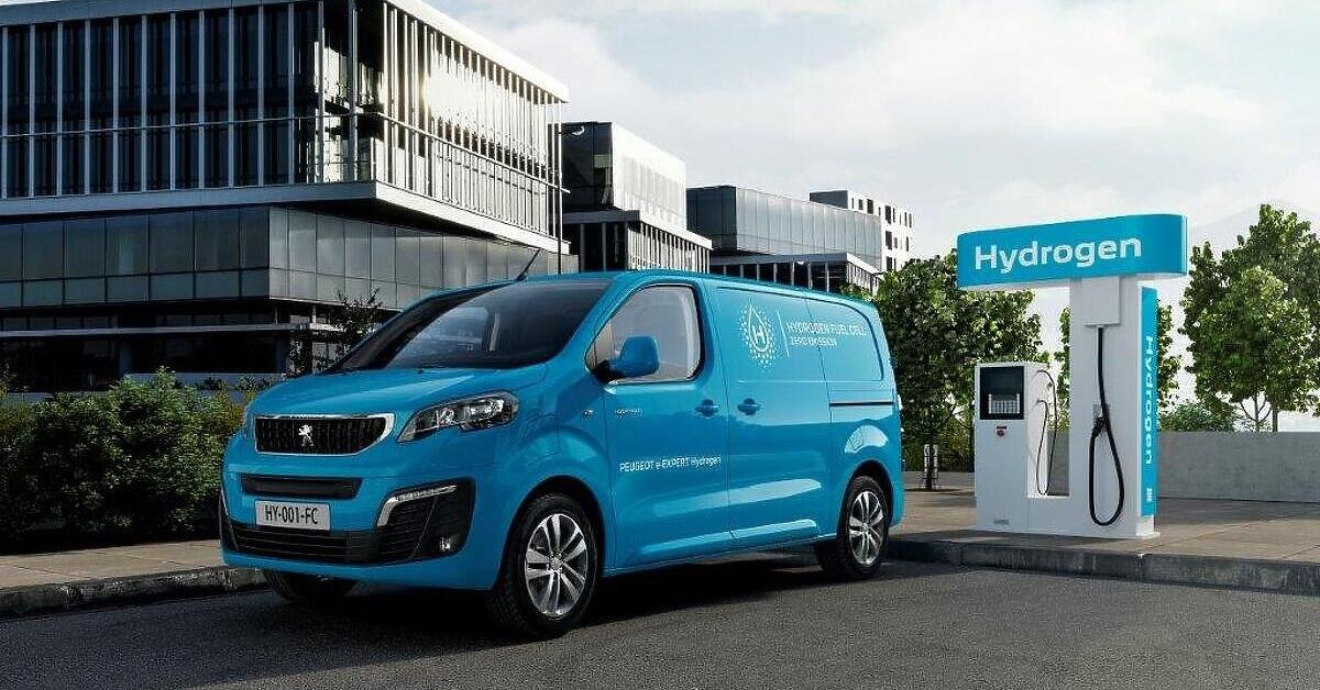 Predstavljen novi Peugeot e-Expert Hydrogen