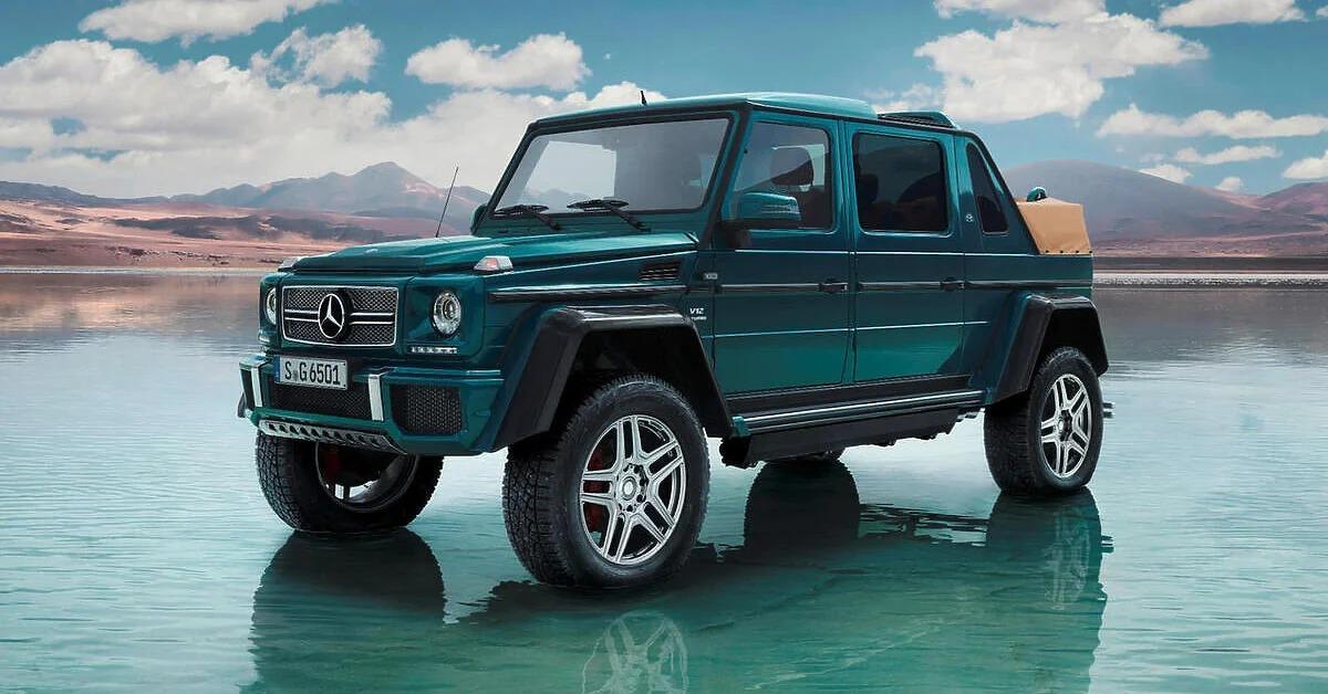 Mercedes želi proizvesti G-Klasu kabriolet