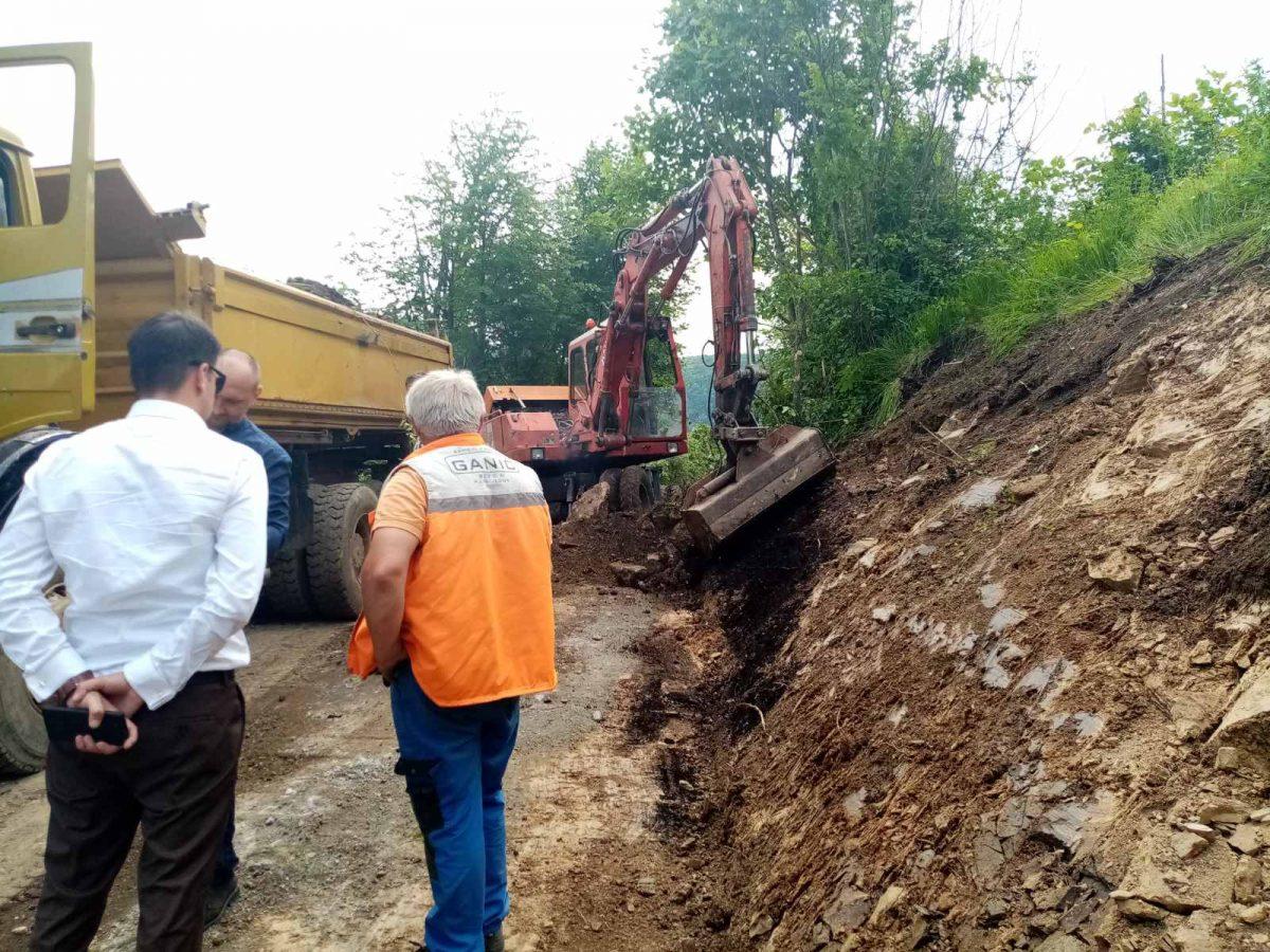 BRAVO Uređenje i asfaltiranje prilaznog puta prema vodopadu Blihe