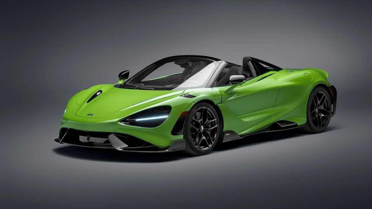 Najsnažniji McLarenov cabrio model do sada krije se iza naziva 765LT Spider