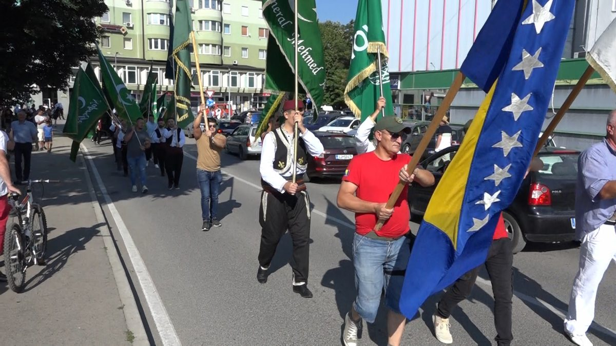 """Defileom kroz grad započeo centralni dio ovogodišnje manifestacije """"Musalla"""""""