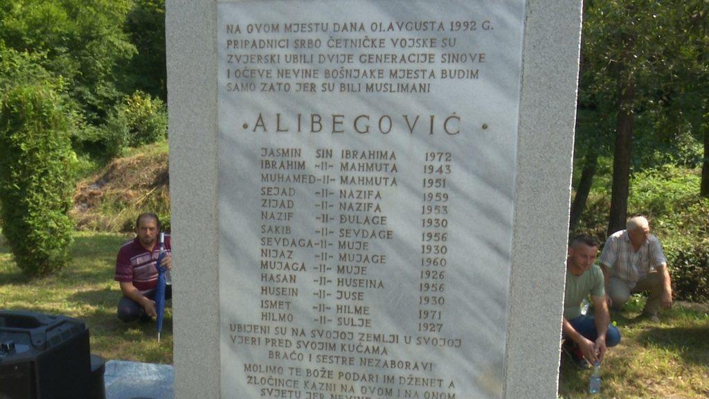 Godišnjica svirepog zločina nad 14 članova porodice Alibegović