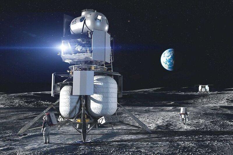 Bezos nudi dvije milijarde dolara za povratak u utrku na Mjesec