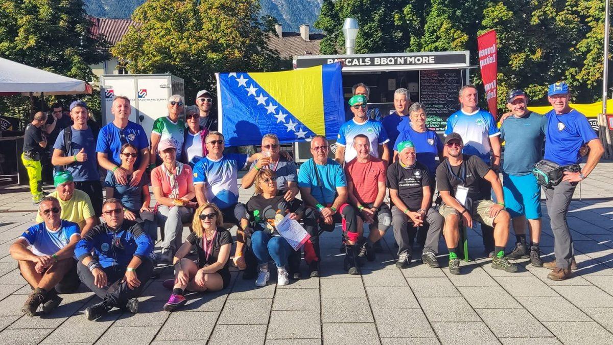 SJAJNO Sanski planinari osvojili četvrto mjesto na Svjetskom prvenstvu planinara