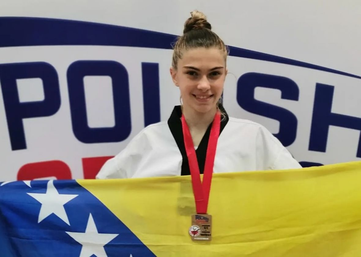 BiH budi ponosna: Sjajna Ada Avdagić osvojila zlatnu medalju