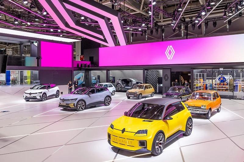 Konceptni Renault 5 na sajmu IAA u Minhenu