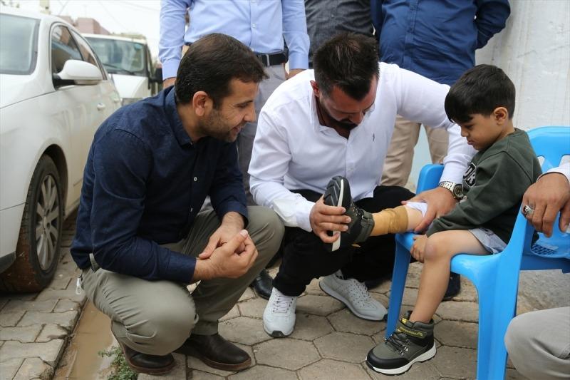 Dječaku iz Sirije proteza za nogu vratila osmijeh na lice