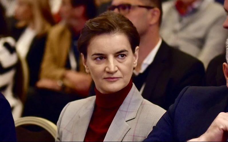 Brnabić: Neću potpisati nezavisnost Kosova