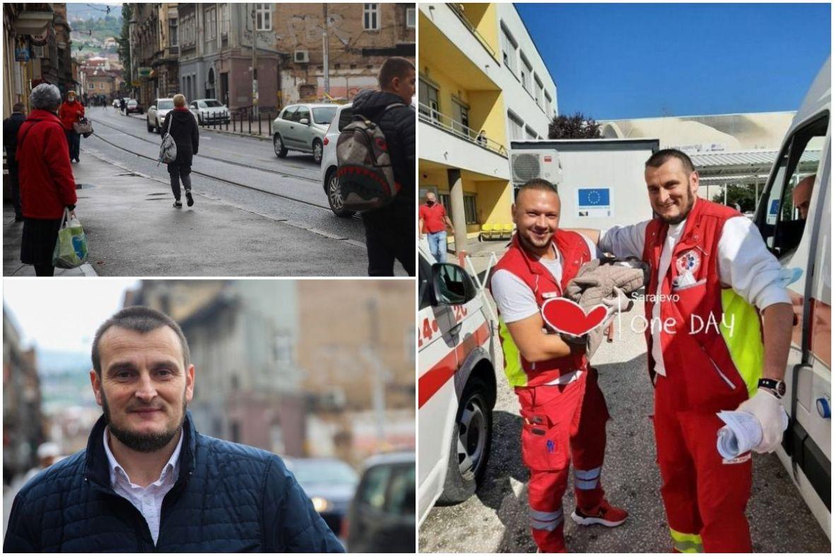 Majka koja je rodila u automobilu na tramvajskoj stanici u Sarajevu: Beba se zove Merjem