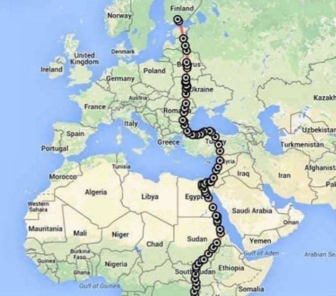 Satelit pratio let sokola, preletio više od 10.000 kilometara u 42 dana